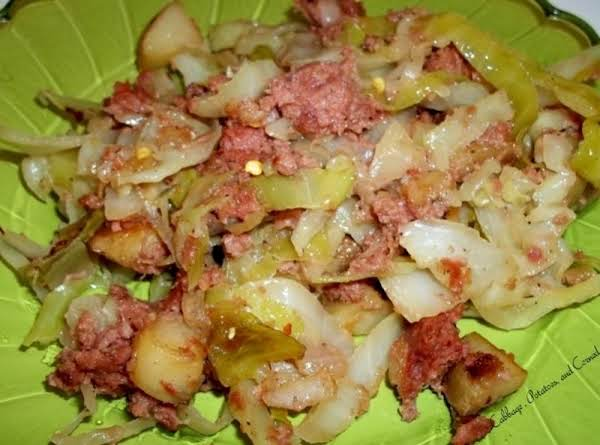 My Cabbage, Corned Beef & Potatoes Mess