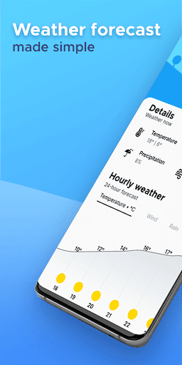 Overdrop Weather & Alerts - Real Time Forecast 1.5.1 screenshots 1