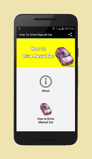 How To Drive Manual Car