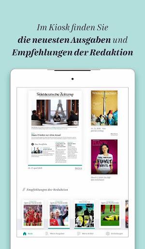 Süddeutsche Zeitung Zeitungsapp 4.1 screenshots 20
