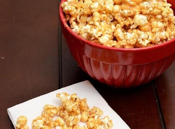 Peanut Butter Caramel Popcorn Recipe