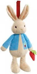 Beatrix Potter Peter Rabbit My First Flopsy Bunny Bean Rattle Baby Toy