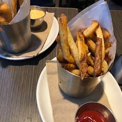 Herb fries & fried pickles