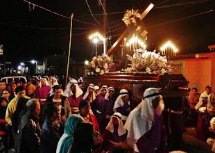 Photo: Abendliche Prozession in Apaneca