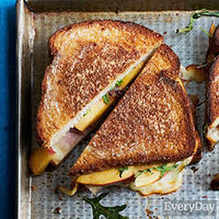 Peachy Grilled Cheese Sandwiches.