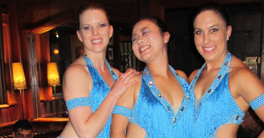 Our Amika Dance Company Performs At The Barking Dog on May 31st, 2016