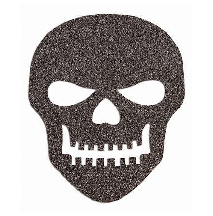 Dödskallar svart självhäftande