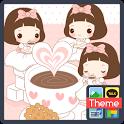 노랑박스 단바리_코코아 카톡 테마 icon