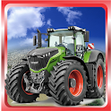Impossible tractor tracking stunt icon
