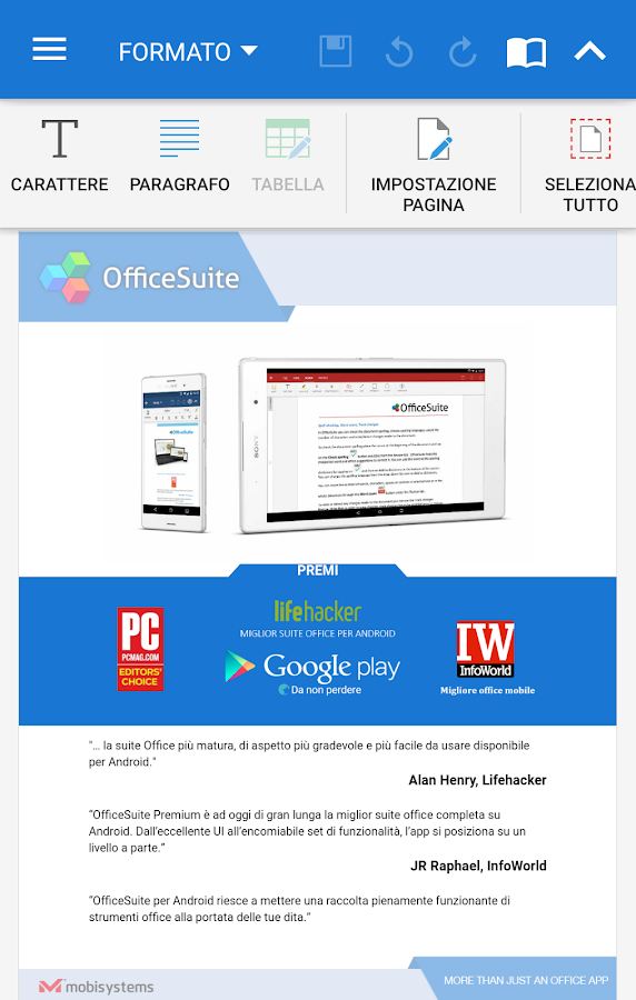 OfficeSuite + PDF Editor- screenshot