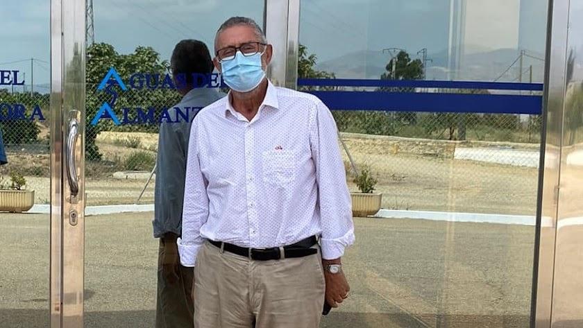 El alcalde de Albox, Francisco Torrecillas, en una fotografía reciente.