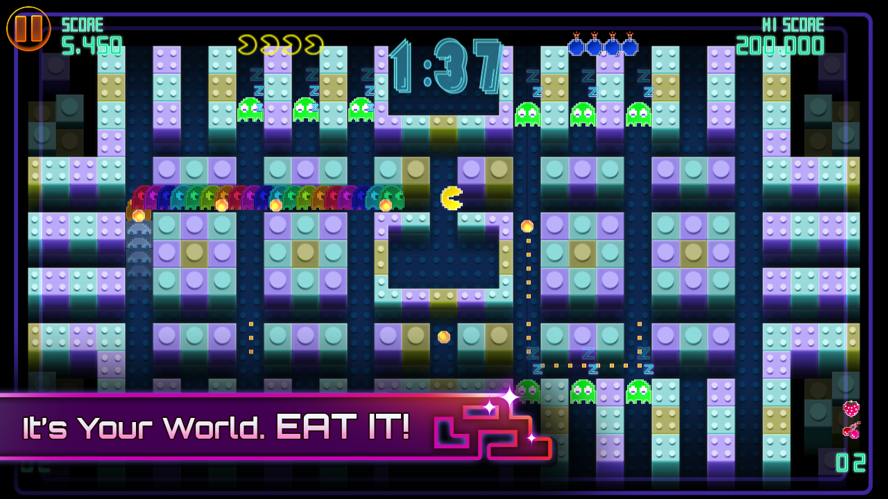 PAC-MAN CE DX screenshot #7