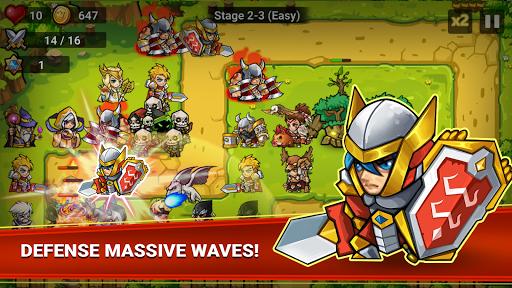 Defense Heroes: Defender War Tower Defense Offline 0.3.11 pic 2