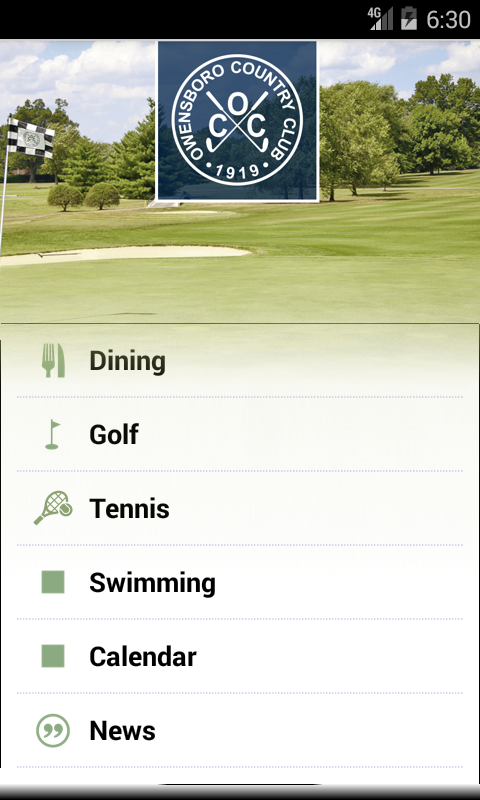 Owensboro Country Club- screenshot