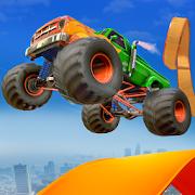 Impossible Car Stunt - Vertical Mega Ramp Stunt
