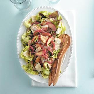 Warm Chicken And Apple Salad.
