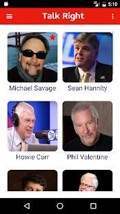Talk Right - Conservative Talk Radio - náhled