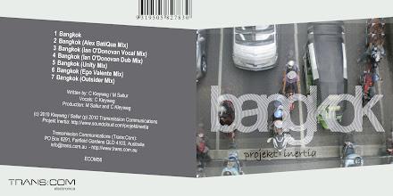 Photo: Master Artwork: ECOM56, Projekt Inertia - Bangkok, released August 2010. Design by Dennis Remmer.