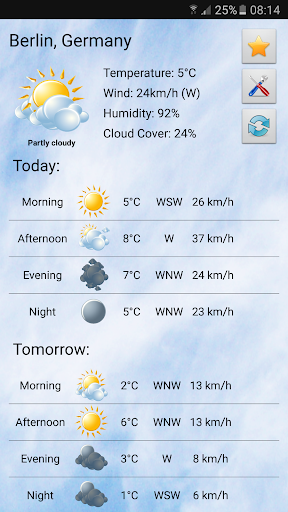 Local weather screenshot 4