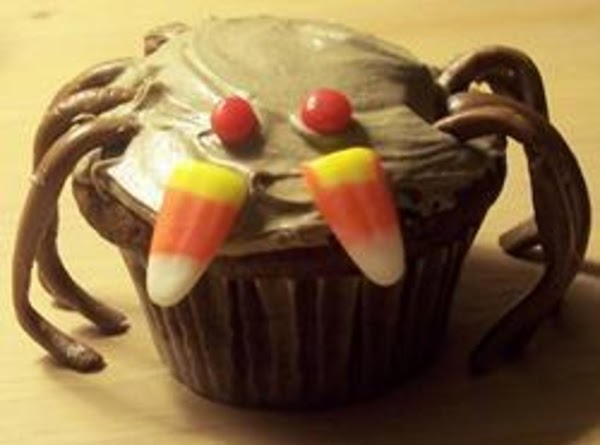 Spooky Spider Cupcakes Recipe