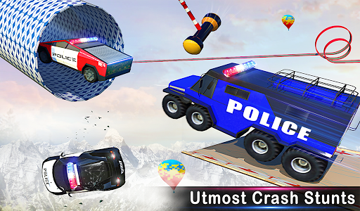 Police Ramp Car Stunts GT Racing Car Stunts Game 1.3.0 screenshots 17