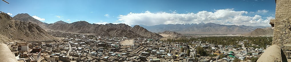 Photo: View from Leh Palace, Ladakh