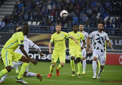 AA Gent nam niet bewust gas terug tegen Konyaspor