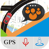 GPS Group Travel – Live Street View Maps with Chat