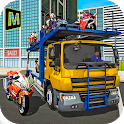Bike Transporter Big Truck icon