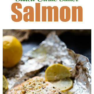 Lemon Basil Baked Garlic Butter Salmon Recipe