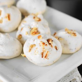 Pecan Meringue Kiss Cookies