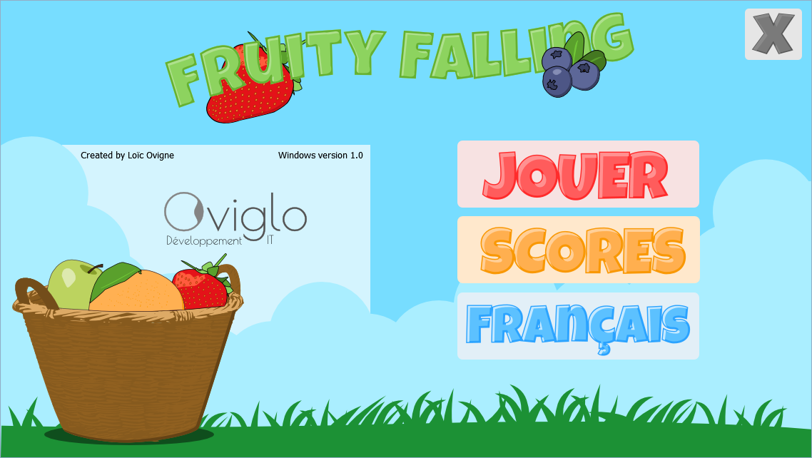 Fruity Falling- screenshot