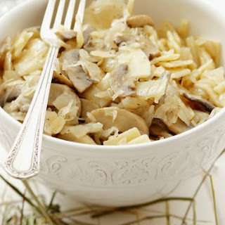 Mushroom and Cabbage Pasta