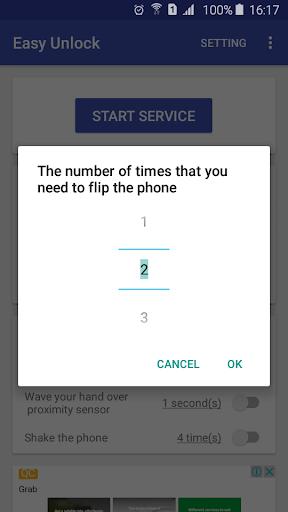 Easy Unlock - Smart Screen On Off  screenshots 2