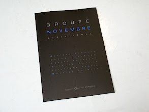 Photo: © The Museum of Photography, Seoul  Carton invitation Groupe Novembre