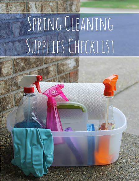 Spring Cleaning Supplies Checklist