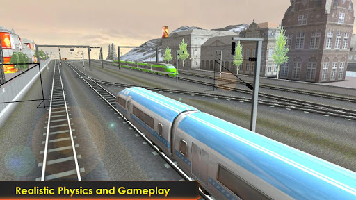 Subway Train Racing 3D 2019 ss2