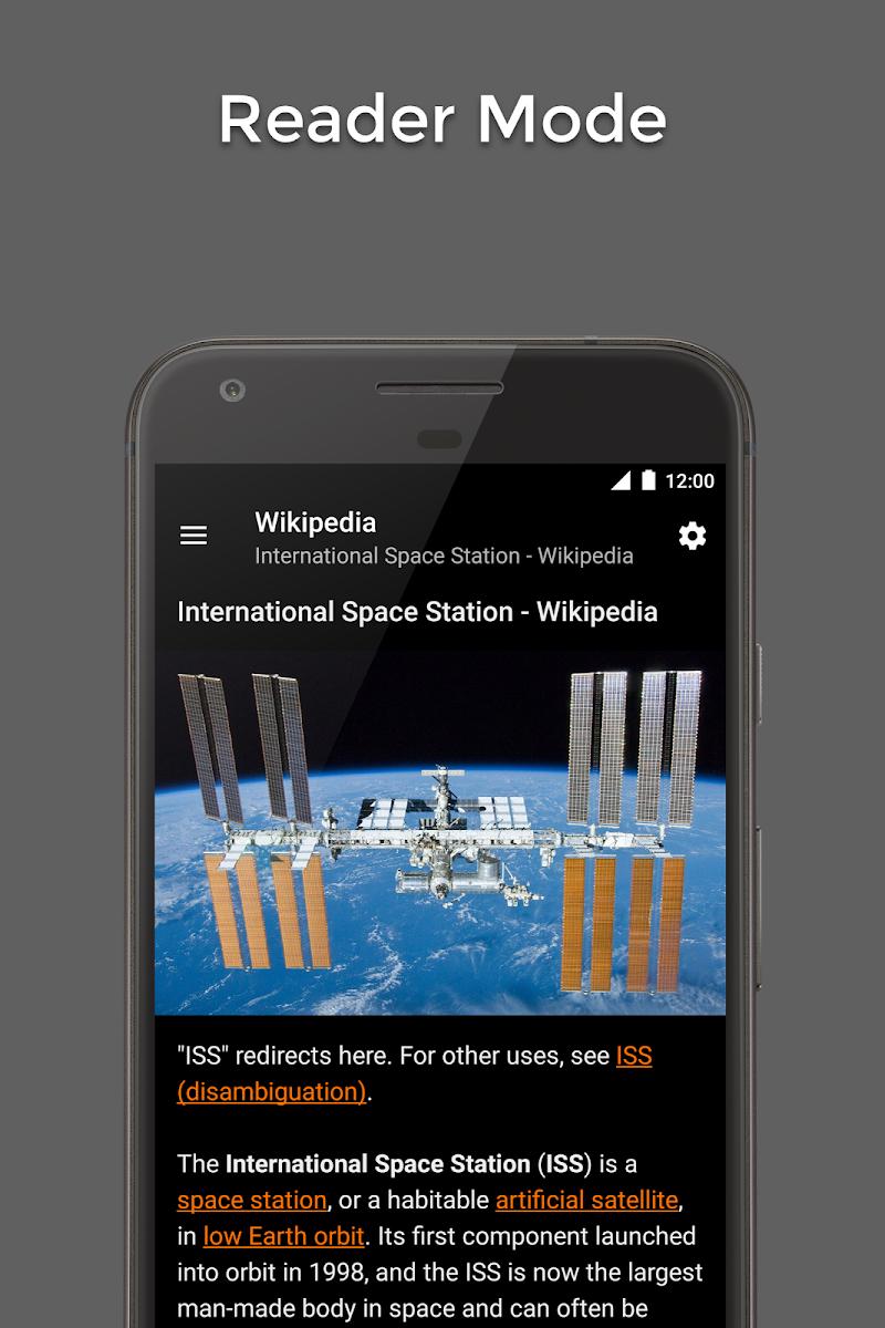 Hermit • Lite Apps Browser Screenshot 2