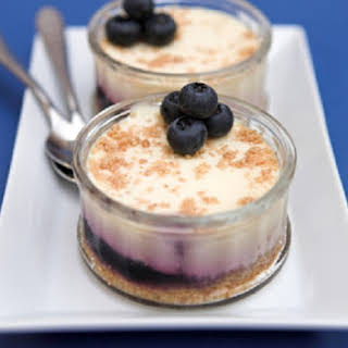 No-Bake Blueberry Cheesecake for One.
