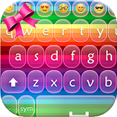 Color Keyboard with Emojis