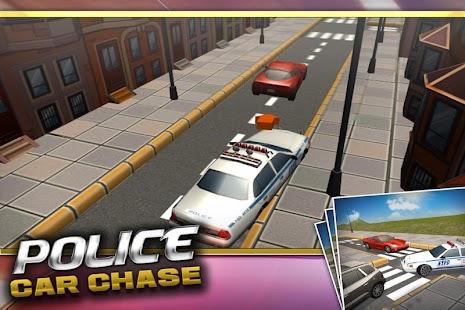 Policejní auto Chase 3D - náhled