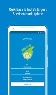 QuikrEasy - Home/Financial/Beauty Services & more- screenshot thumbnail