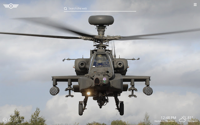 War Helicopters Hd Wallpapers New Tab Theme