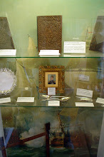Photo: Display Case in the Admiral's Room