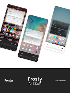 Frosty for KLWP Paid Apk 2