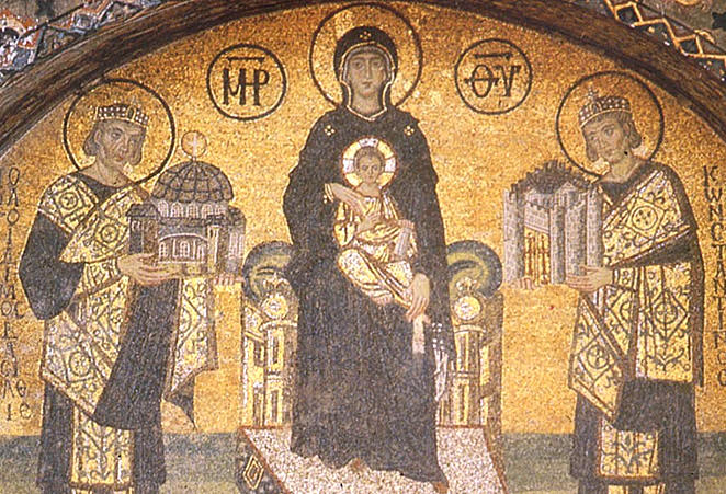"""The Virgin and Child"" in the Byzantine world 