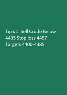 Free Intraday Commodity Trading Tips - náhled