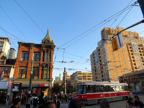 Photo: Toronto - Spadina Ave. crossin Queen St.