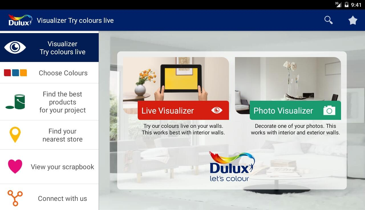 Dulux Visualizer- screenshot