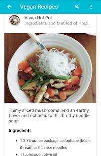 Vegan recipes apps on google play screenshot image sisterspd
